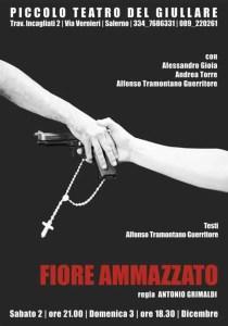 Manifesto FIORE AMMAZZATO - Piccolo Teatro del Giullare