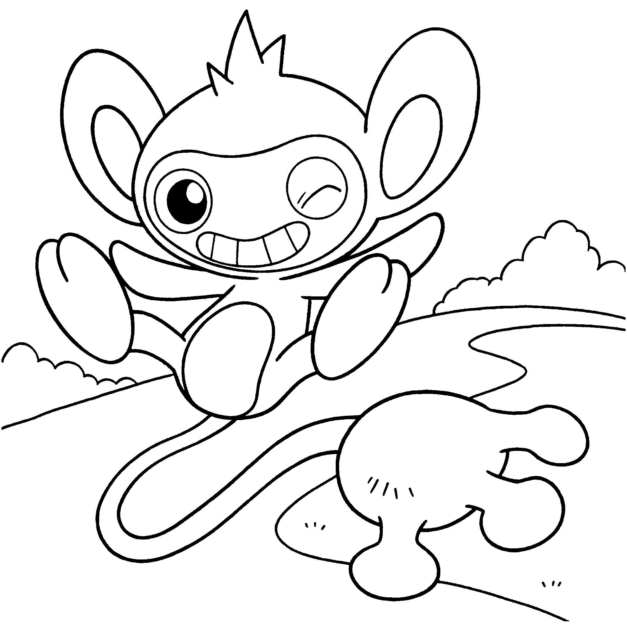 Pokmon Diamond And Pearl Coloring Pages