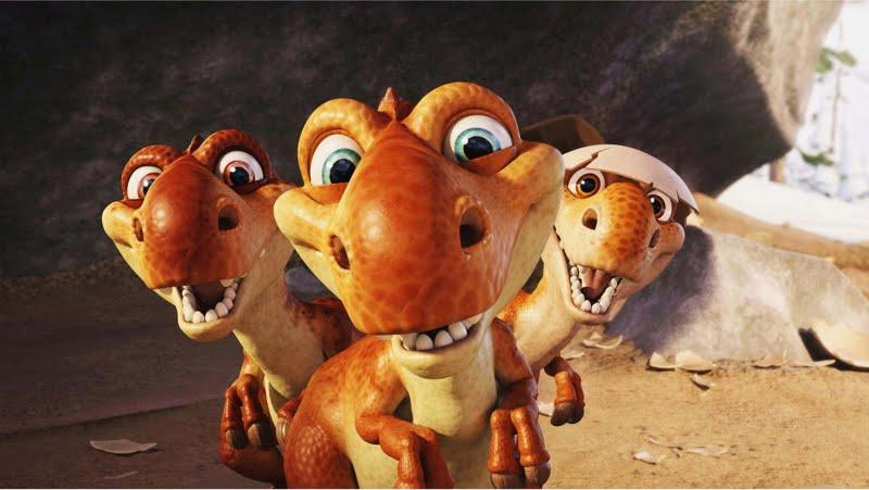 Image result for dinosaur ice age gif