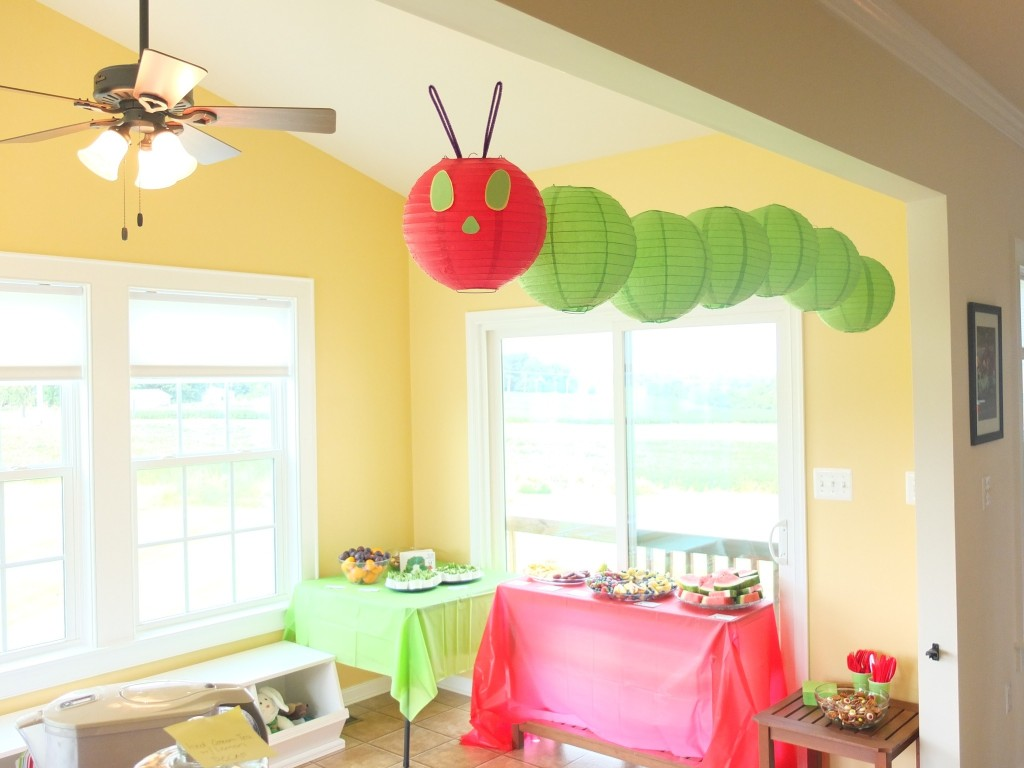 Very Hungry Caterpillar Paper Lantern Mobile