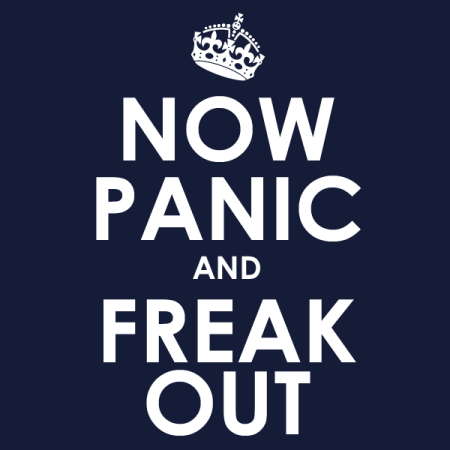 Here's why freaking out isn't always a bad thing!