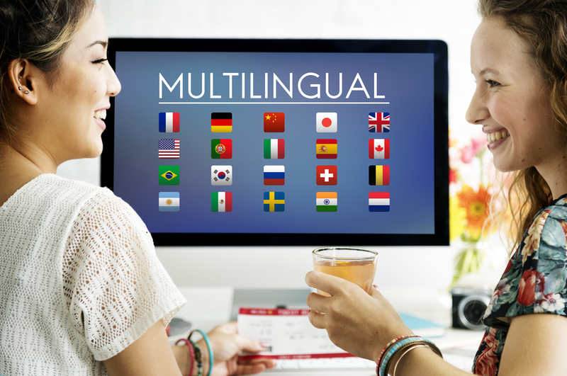 Multilingual site benefits