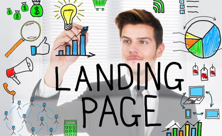 Lnading page conversion