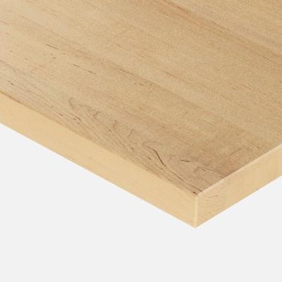 plan de travail sur mesure en bois