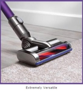 extremely versatile cleaning from floor