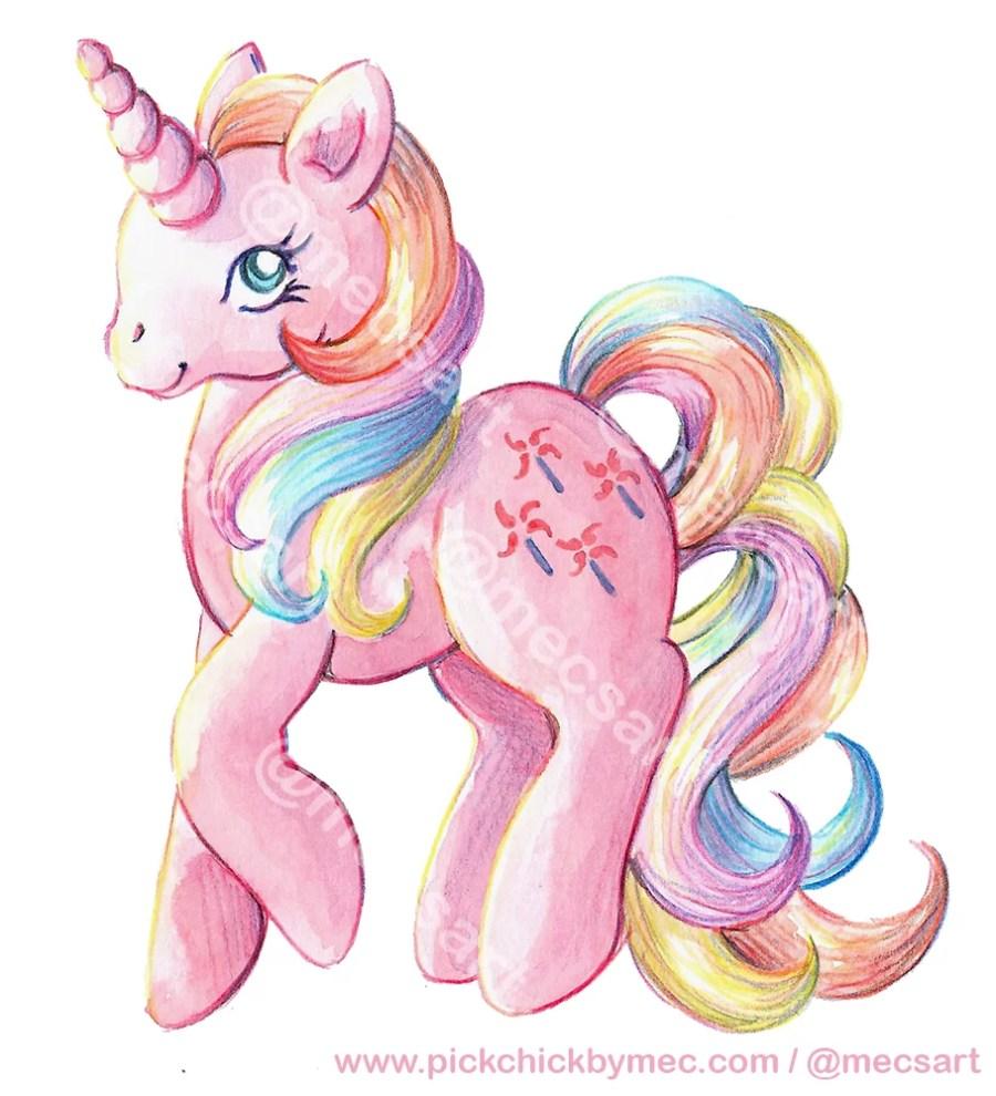 Encargo de ilustración de My little pony Pinwheel