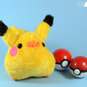 Peluche kawaii pikachu pokemon pollito Chiripio version
