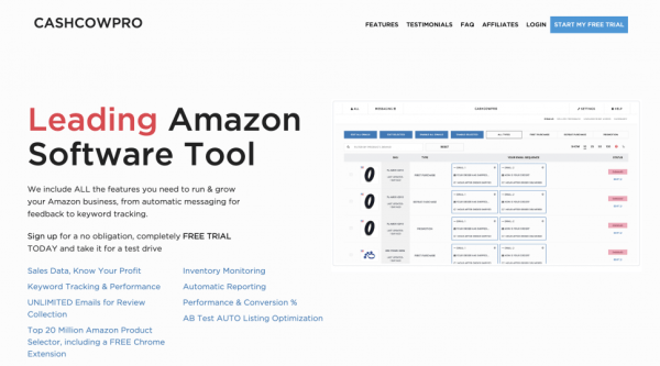 Cashcowpro includes an Amazon AB testing tool, but it feels like an afterthought