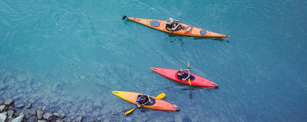 canoe vs kayak for family