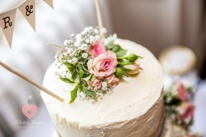 Wedding cake at Eastwood Park in 2017