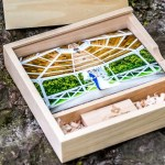USB presentation box for wedding photography