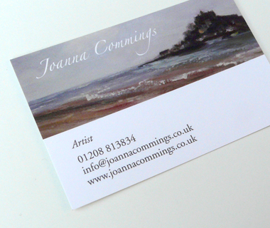 Joanna Commings' Business Card
