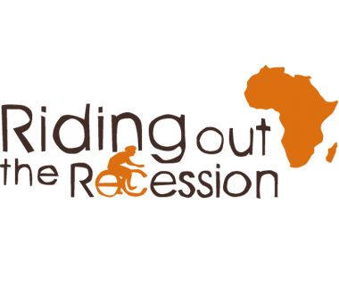 Riding Out The Recession Logo