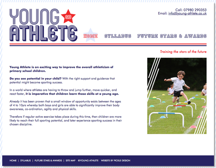 The Young Athlete Website