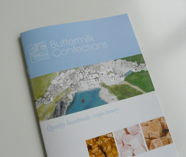 Brochure design for Buttermilk