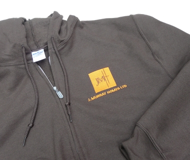 Hoodie embroidery for J.Murray Homes