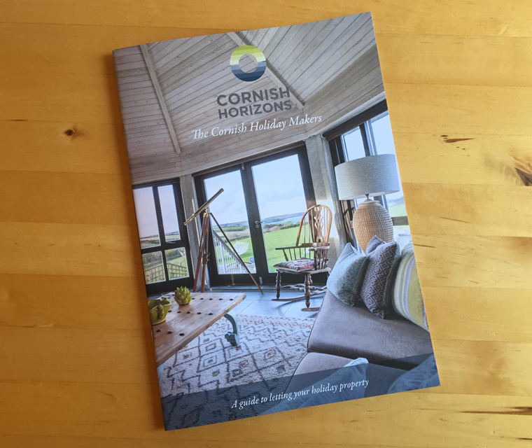 Cornish Horizons brochure cover