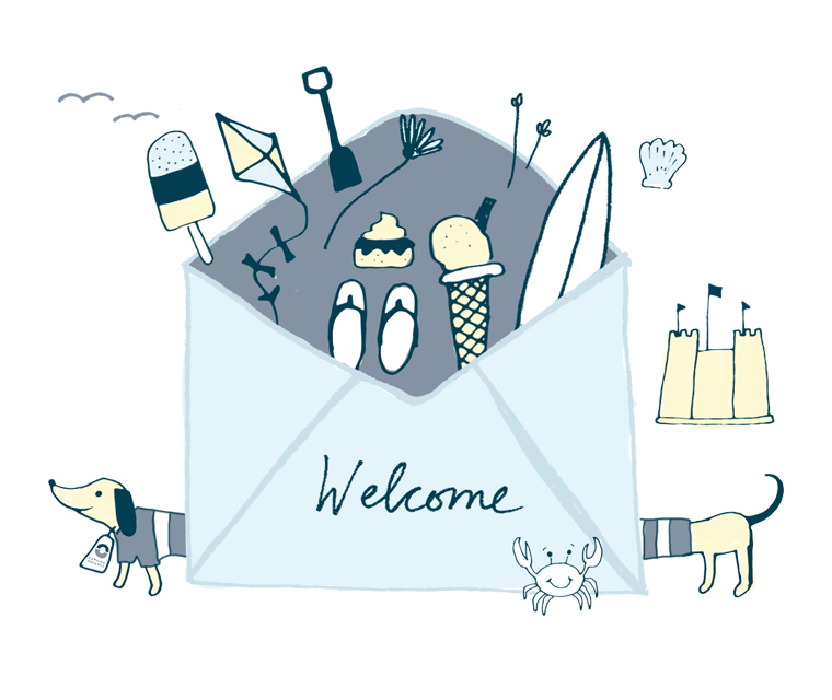 Welcome email artwork for Cornish Horizons