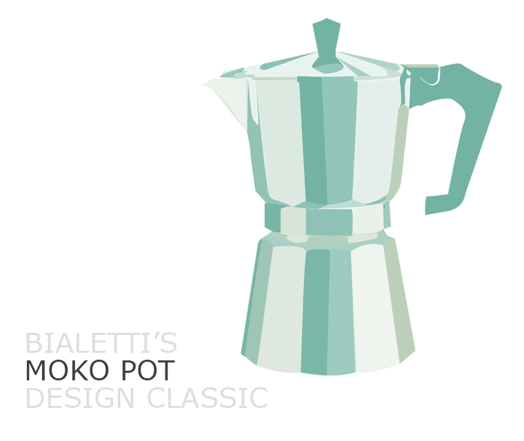 Bialetti's Moko coffee pot