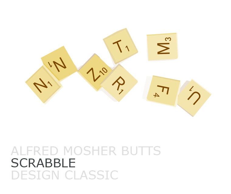Scrabble Pickle Design's Design Classic