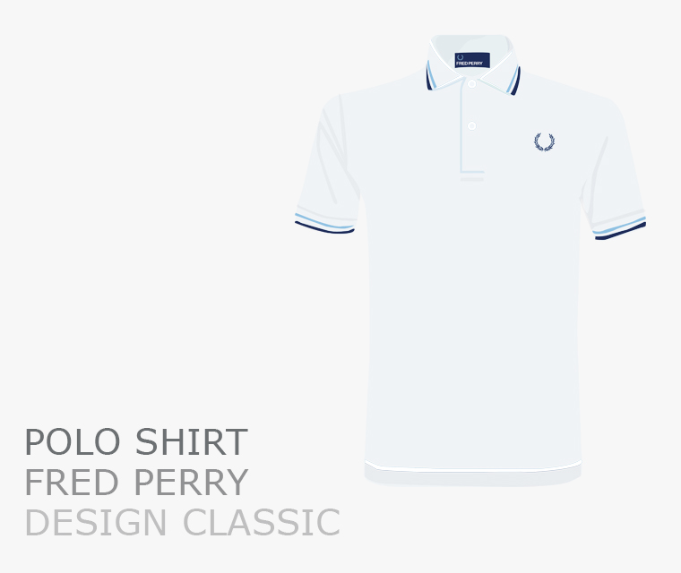 Fred Perry polo shirt design classic
