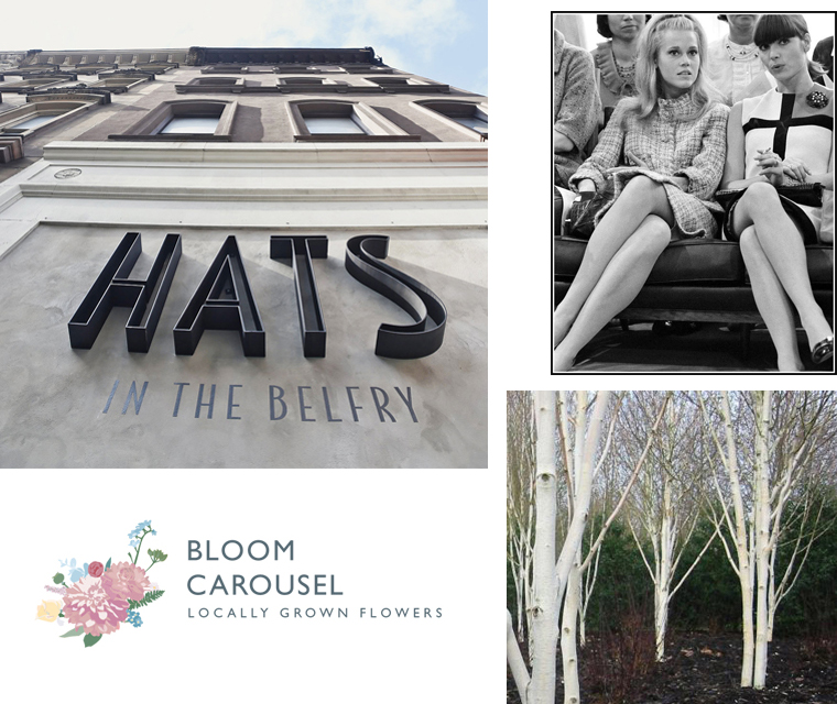 In our May newsletter we have the Mondrian dress, all about the silver birch, some cool shop signage and lots more!