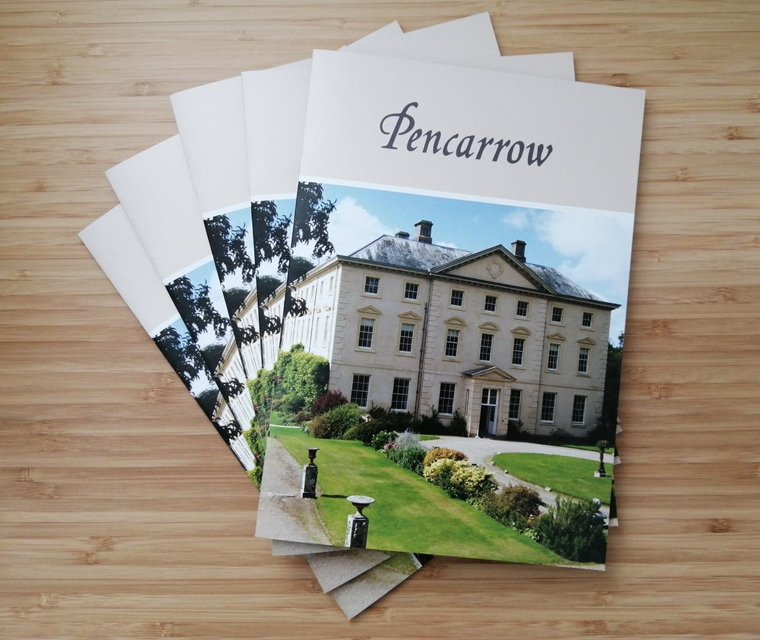 Pencarrow House and Gardens near Wadebridge guide book