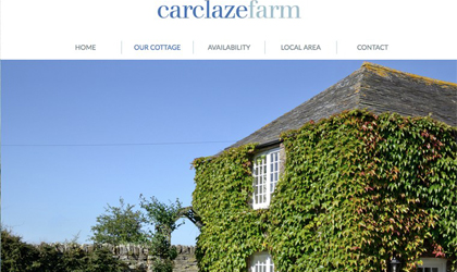 Website design in Cornwall