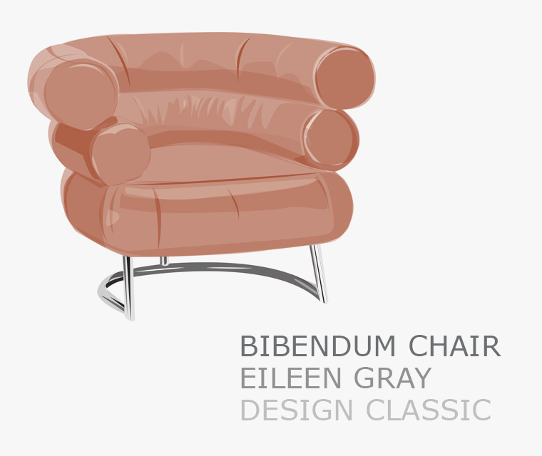 The Bibendum chair by Eileen Grey our November design classic