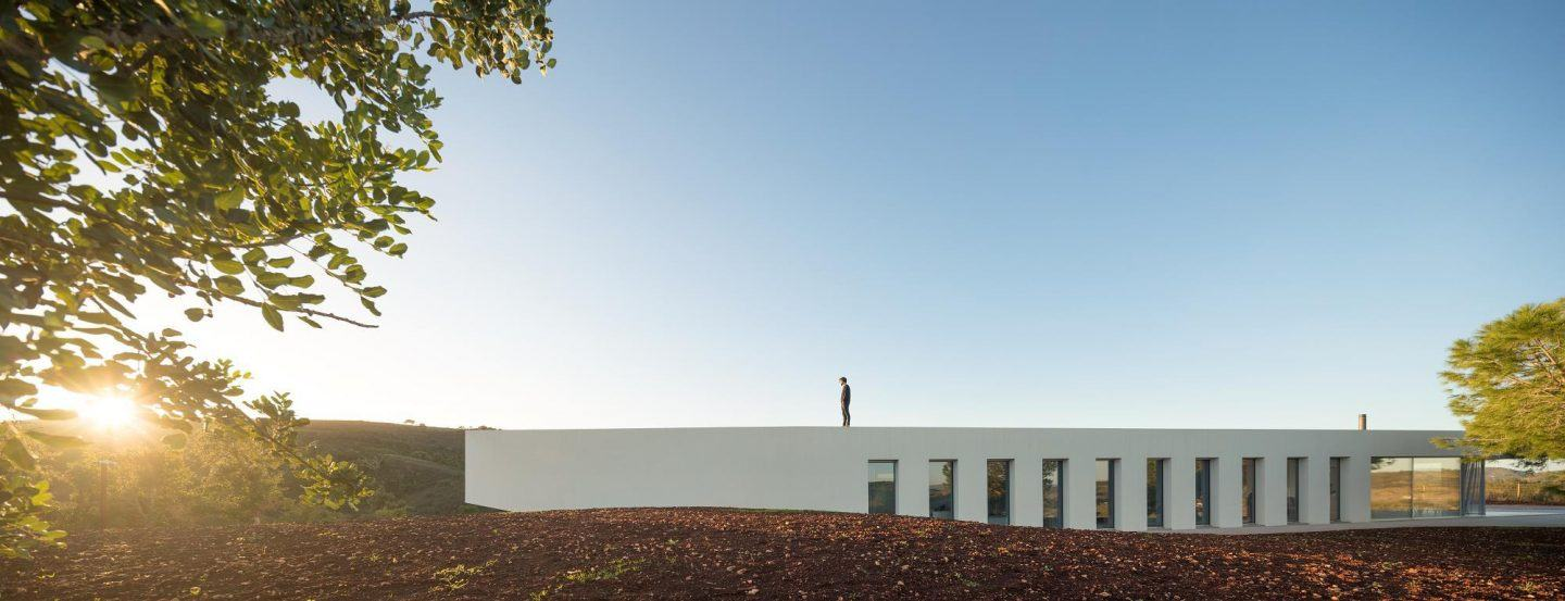 Portuguese Modernist white house