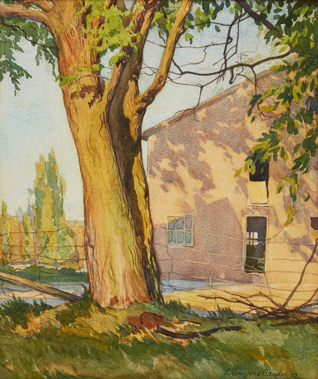 Canadian artist Conyers Barker