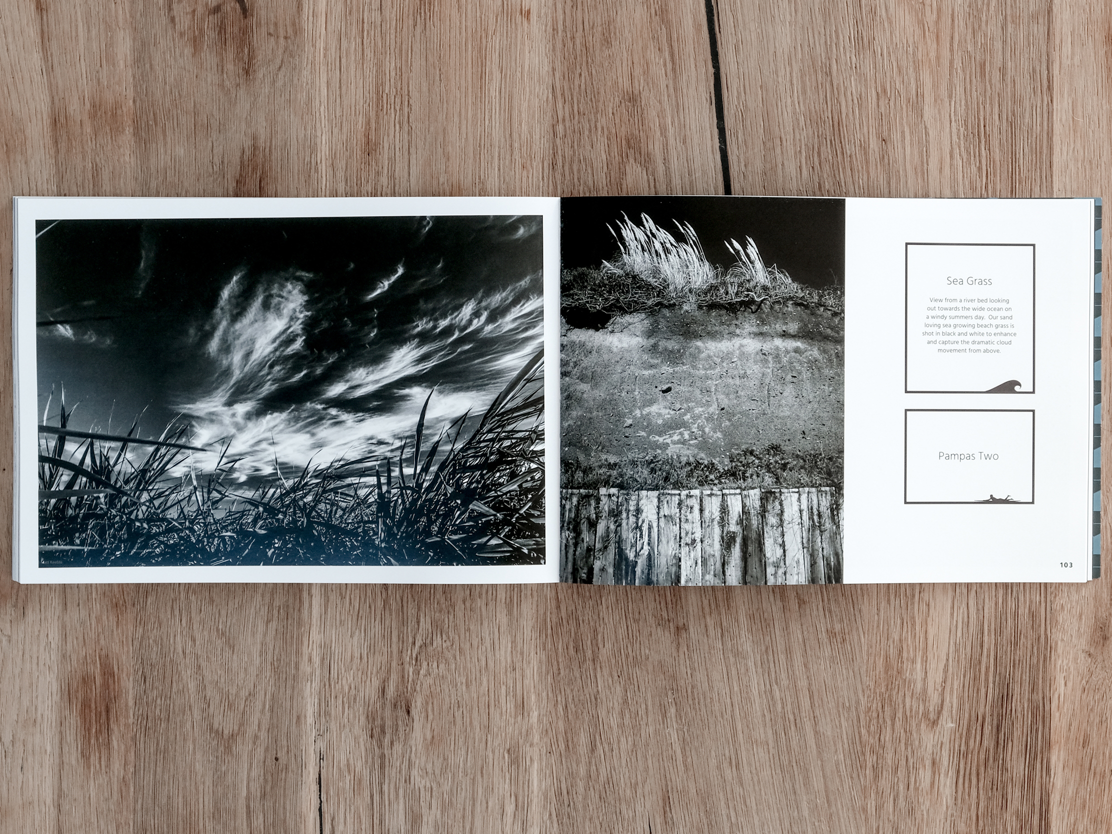 Black and white photography in the Cornish Surfer book