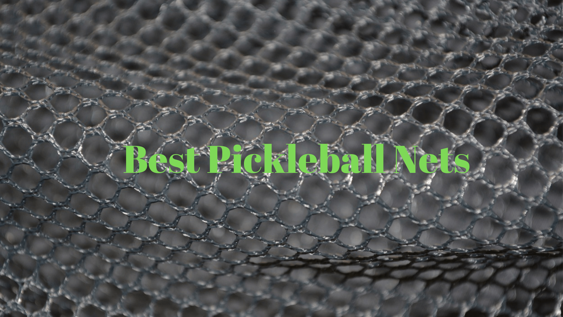 Best Pickleball Nets 2019