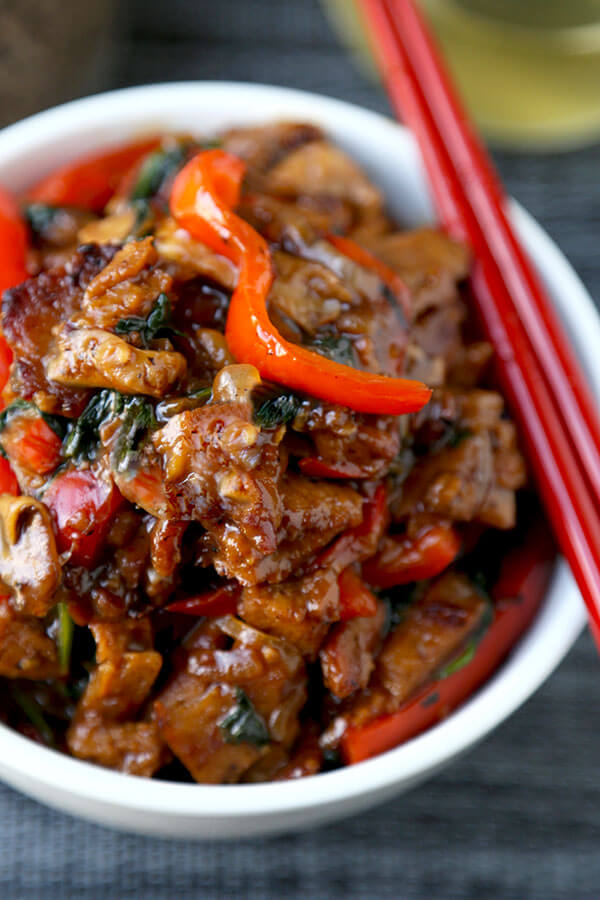 Seitan and Vegetable Stir Fry Recipe - Pickled Plum Food