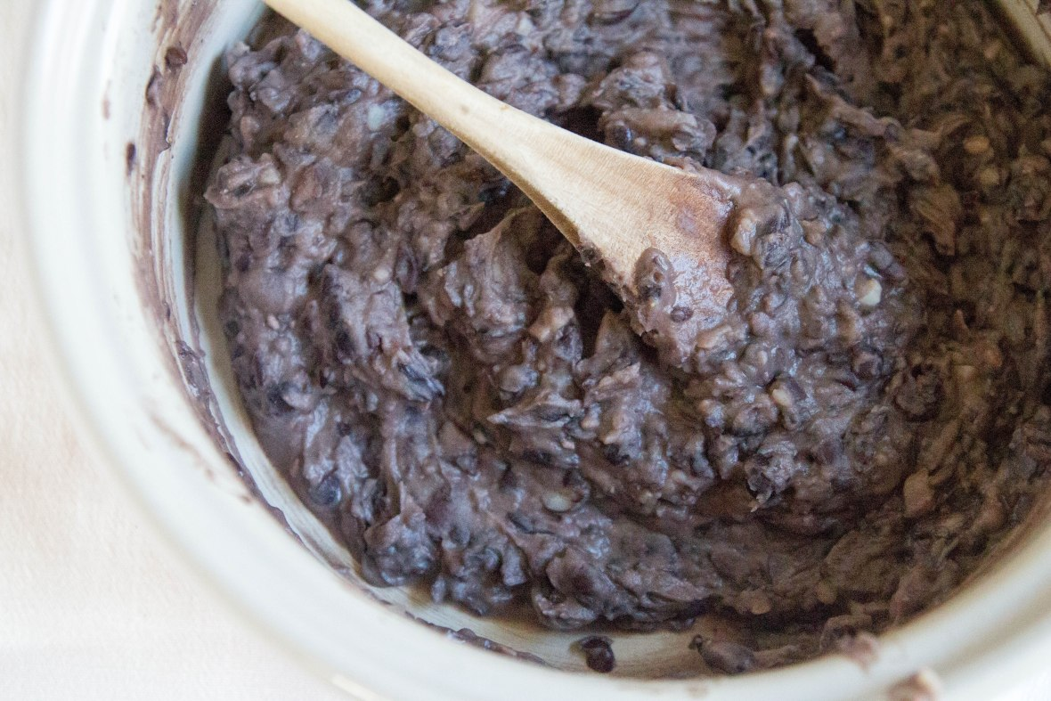 Refried Black Beans-7