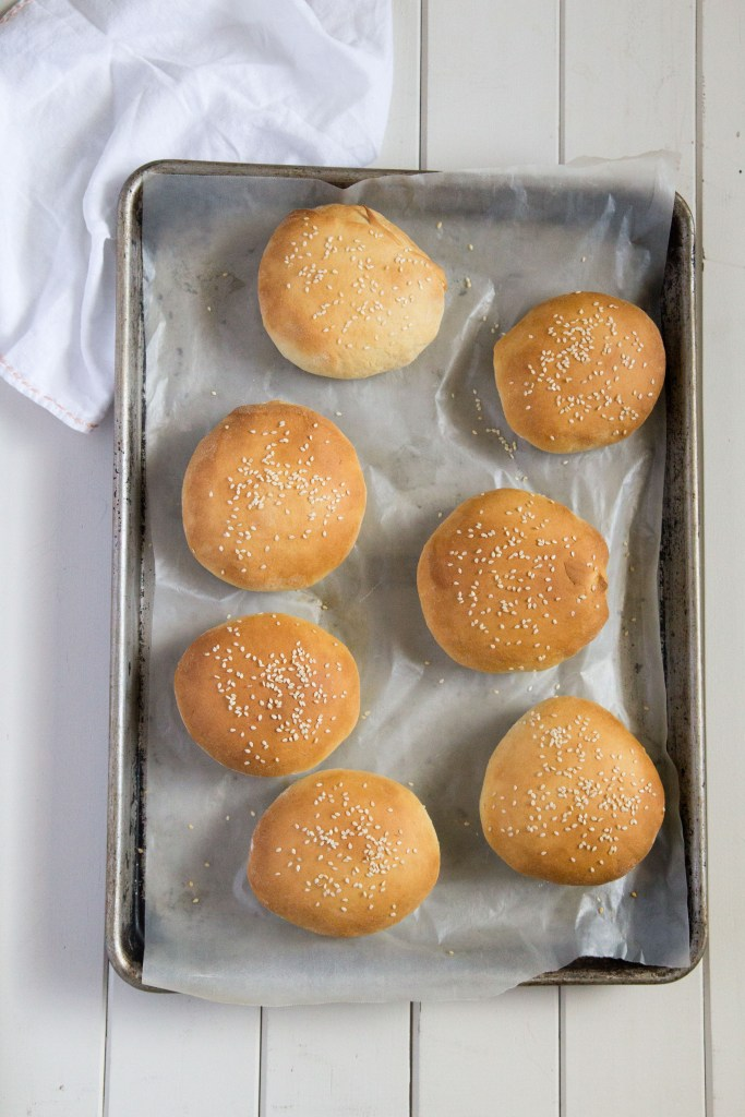 The best homemade hamburger buns! By Pickle Jar Studios
