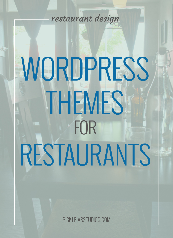 wordpress themes for resturants