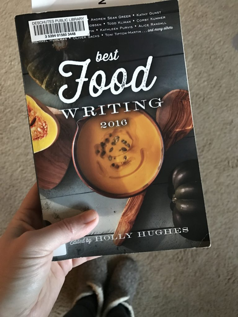 the best food writing cover font