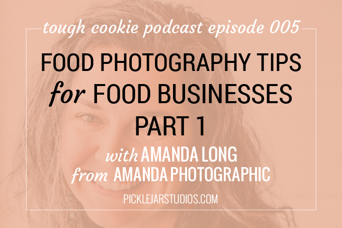 Tough cookie episode 5 food photography tips part 1
