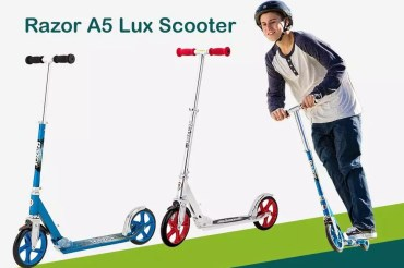 The Best Value Razor A5 Lux Scooter Reviews [Adult Kick Scooter]