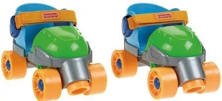 Fisher-Price 1, 2, 3 Green Roller Skates – Best Roller Skates for 2-4-year-old
