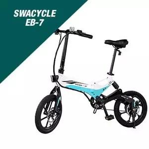 Swagtron Swagcycle EB-7 Folding Electric Bike