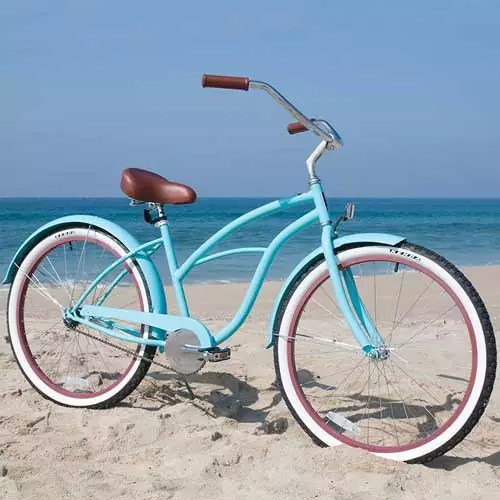 Sixthreezero Women's Beach Cruiser Bicycle, 26″ Wheels/17″ Frame