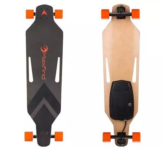 Maxfind 18.6 mph Electric Longboard Skateboard Cruiser