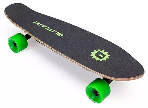 BLITZART Mini Flash 12mph 28″ Electric Skateboard