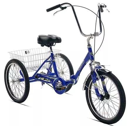 KENT Adult Three Wheel Bike with Folding Frame