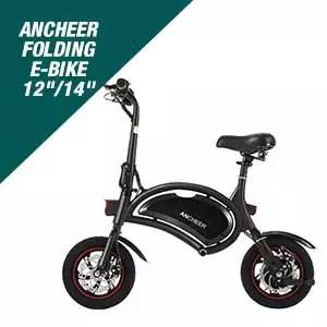 ANCHEER Folding Electric Bike 12 inch