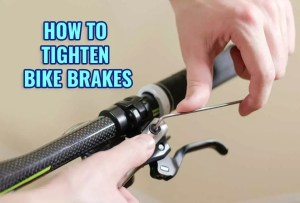 How to Tighten Bike Brakes [Easy Way]