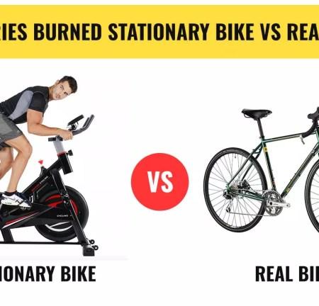 Calories Burned Stationary Bike Vs Real Bike