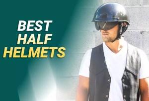 Best Half Helmets 2021 – Our Top Pick & Guide